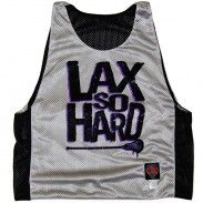 Lax So Hard Lacrosse Reversible Lax Pinnie