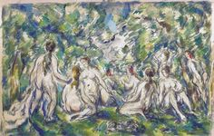 Bathers, 1900.  Paul Cezanne