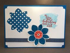 Stampin' Sacha: You are a fabulous work of art