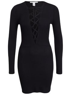 Lace Up Dress from NLY Trend
