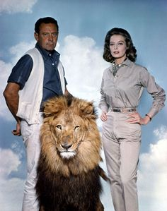 The Lion (1962) a successful American lawyer Robert Hayward (William Holden) estranged from his wife Christine (Capucine) is called back to Africa over fears for their young daughter's future. Set amidst the exotic flora and fauna of a wildlife reserve in Kenya, the film unfolds as Christine and Robert grapple with the best way -- and place -- for their willful, independent, almost feral daughter to grow up.