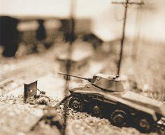 WWII miniature war gaming