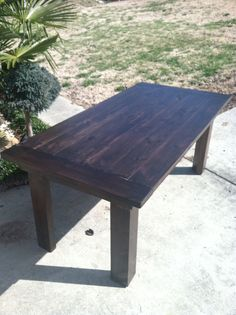 Farmhouse kitchen table by AK Custom Furniture