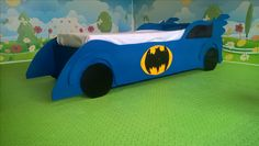 erstes selbstgemachtes Kinderbett Batman