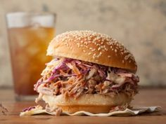 In proud North Carolinian fashion, the barbecue sauce for this pulled pork calls for a whole cup of cider vinegar.