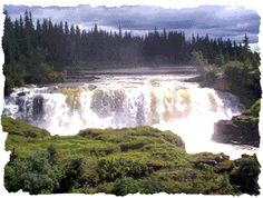 Pisew Falls New Thompson Manitoba...Where we spent many days and hikes!!