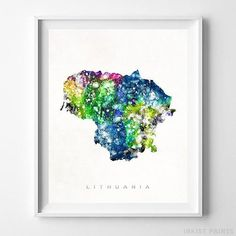 Large detailed map of Lithuania Maps Pinterest Lithuania