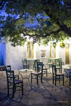 """""""Plateia or platia (πλατεία) is the Greek word for town square. In traditional societies like villages and provincial communities, plateies are the central places for feasts, celebrations, events and meetings"""".*"""