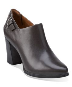 This Dark Gray Lea Kadri Dylan Leather Bootie is perfect! #zulilyfinds