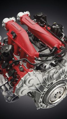2015 Ferrari California T Engine