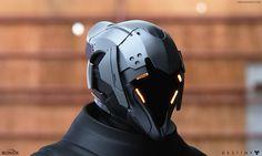 Destiny: Façade of the Hezen Lords Renders, Mike Jensen Destiny Helmet, Destiny Warlock, Robot Concept Art, Armor Concept, Character Design, Character Concept, Character Art, Armadura Sci Fi, Futuristic Helmet