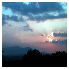 A Smoky Mountain sunrise