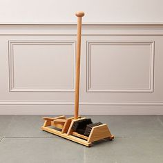 Check out Boot Jack + Boot Brush Stand from Terrain Boot Puller, Wood Projects, Woodworking Projects, Amsterdam Christmas, Boot Storage, Garage Storage, Storage Organization, Boot Brush, Garden Spade