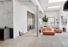 Et gammel fabrikklokale i trendy Soho er forvandlet til et avslappende hjem hvor originale detaljer møter skandinavisk storbyminimalisme.