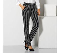 Prúžkované vzdušné nohavice   blancheporte.sk #blancheporte #blancheporteSK #blancheporte_sk #autumn #fall #jesen #nohavice Striped Pants, Fashion, Moda, Stripped Pants, Fashion Styles, Striped Shorts, Fashion Illustrations, Stripe Pants
