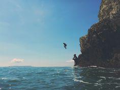 Coasteering in Dorset Snorkelling, Bald Eagle, Kayaking, Dreams, Adventure, How To Plan, Water, Outdoor, Animals