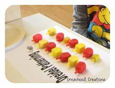Dreidel Patterns | Preschool Creations