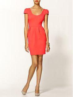 @veronicahumphreys Amanda Uprichard Hillary Ponte Dress | Piperlime