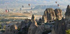 Montgolfière en Cappadocia, Turquie - Été 2011