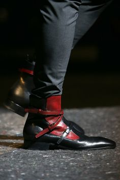 As weird as they are, there is something I really like about them. Prada | Fall 2014 Menswear Collection