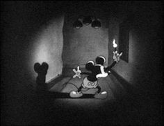 disney vintage horror mickey mouse dark disney gif Vintage gif