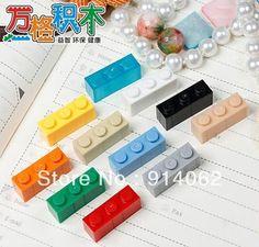 hot self-locking bricks kid's DIY toys