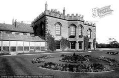 Photo of Bishop Auckland, The Castle 1892 Auckland Castle, Bishop Auckland, North East England, Local History, Newcastle, Trail, Mansions, House Styles, Places