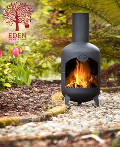 Gas Bottle Chimnea - Check out Eden Home and Fires Chimnea, it's the funkiest on the market. They are made from up cycled gas cylinders. Each one is sandblasted and treated with heat resistant paint. They will last far longer than the standard clay chimneas as they will never crack or warp with the heat... http://www.edenhomeandfire.com/#!product-page/cg7d/eef086a1-23a4-d07a-b8ab-b0961b06b977