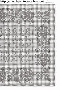 Che ne dite di un po' di schemi nuovissimi da eseguire? Ecco una grande raccolta di bellissimi schemi monocolore da ricamare con filo Mulinè, magari a prezzo specialissimo. Le uso anch'io per i miei ricami.