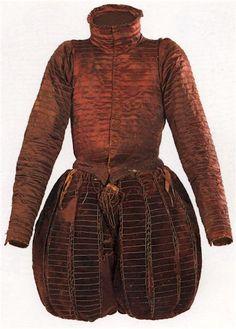 Doublet and trunkhose of Don Garzia de Medici