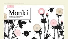 Monkiworld - Web design inspiration from siteInspire