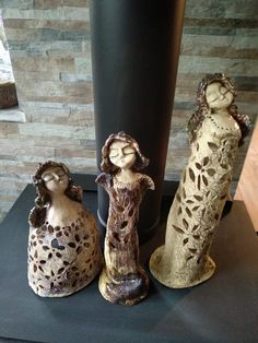 Fotka - Fotky Google Ceramic Angels, Candle Holders, Vase, Candles, Google, Decor, Candlesticks, Dekoration, Decoration