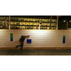 Pong på #pixelväggen
