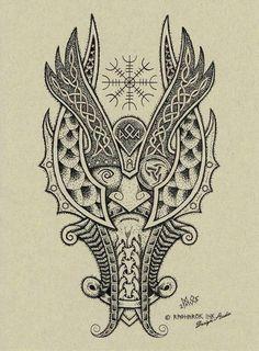 tatouage viking signification des symboles et photos inspirantes remy pinterest compas. Black Bedroom Furniture Sets. Home Design Ideas