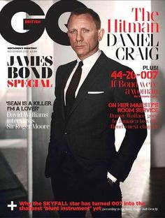 #Skyfall - GQ celebra i James Bond della storia - Daniel Craig