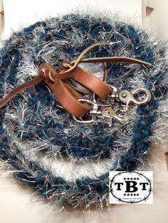 glitter reins, Fuzzy reins, glitter reins, dazzle reins, reins, horse tack, barrel racing, western reins, roping reins, glitter, teal reins by TiffanysBraidedTack on Etsy