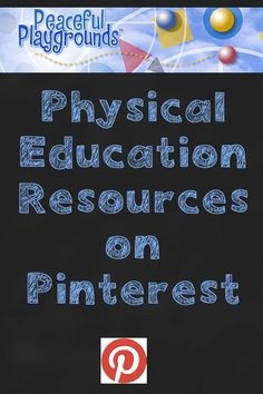 Where the Physical Education Boards are on Pinterest
