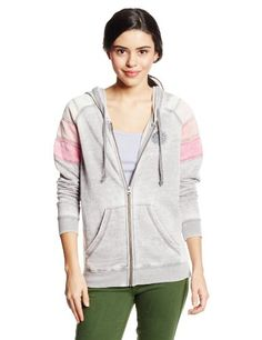Rip Curl Women's Freedom Zip Up Hoodie, Heather Gray, Large - http://www.immmb.com/women-clothing/rip-curl-womens-freedom-zip-up-hoodie-heather-gray-large.html/