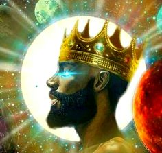 1 Peter But ye are a chosen generation, a royal priesthood, a holy nation, a peculiar people; Black Love Art, Black Is Beautiful, African American Art, African Art, African Style, Kings & Queens, Black Jesus, Black Art Pictures, Art Africain