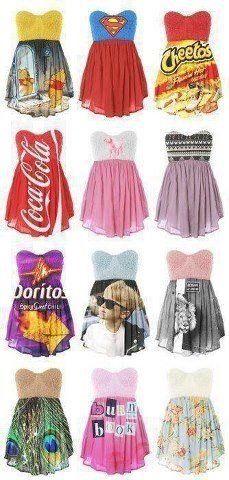 cute idea for dresses!