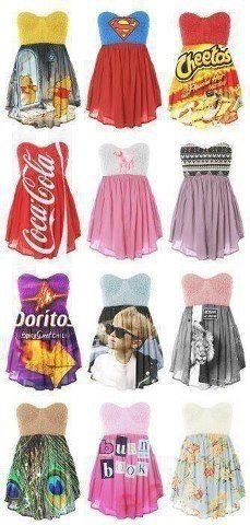 cute idea for dresses!