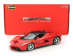Image of 1/18 LaFerrari Red Diecast Model