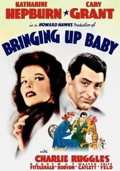 Bringing Up Baby (1938) Love runs wild for a hapless scientist and an unstoppable heiress in Howard Hawks's classic screwball comedy that ranks high on the American Film Institute's list of the funniest Hollywood films ever made. With her eye on paleontologist David (Cary Grant), heiress Susan (Katharine Hepburn) lures him to her home. But the hilarity begins when Susan's dog steals David's prize dinosaur bone and her pet leopard, Baby, is mistaken for a zoo escapee.