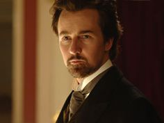 Edward Norton in The Illusionist. Nice collar and tie. Overall, niiiice! Edward Norton, American History X, American Actors, Primal Fear, The Illusionist, Brand Archetypes, Historical Fiction Novels, Best Supporting Actor, Celebrity Gallery