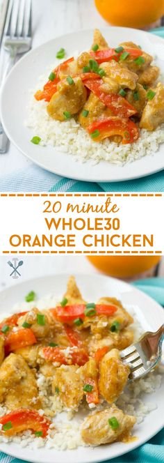 The easiest Whole30, family-friendly dinner ever. 20 minutes to make and better than takeout!