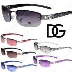 45ad57ade64c New DG Eyewear Womens Small Rectangular Oval Sunglasses Designer Fashion  Shades   eBay