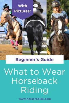 Like any sport, horseback riding requires unique gear and apparel to stay safe and comfortable. Our beginner's guide (with pictures) explains what to wear horseback riding step by step! Horse Riding Tips, Trail Riding, Equestrian Outfits, Equestrian Style, Equestrian Fashion, Horseback Riding Outfits, Riding Lessons, English Riding, Horse Training