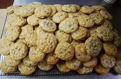 Pile o' chocolate chip cookies #HudsonValley #take out #desserts #bakery #treats #to go