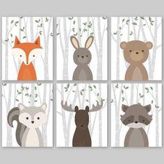 nursery woodland creature - Google Search