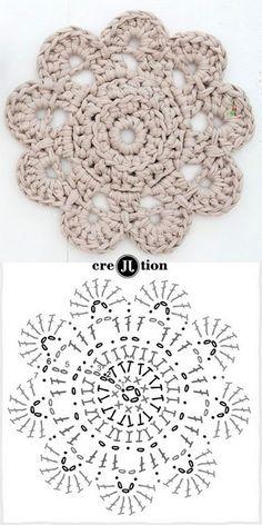 mandala crochet (9)                                                                                                                                                                                 Más
